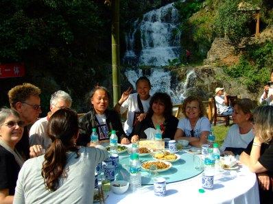 foto china, jingdezhen, cascada
