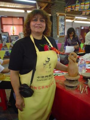 SILVIA BARRIOS Feria Internacional en JINGDEZHEN