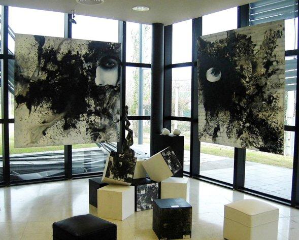Instalacion -Un Lugar en el Tiempo_ Silvia Barrios