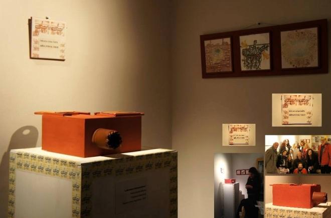 """""""Laberintos ribozomáticos"""" María Amalia Beltrán Proyecto interactivo. Lo visible, lo generado y lo real en otros universos gráficos posibles. Cerámica en cruce con la tecnología analógica y digital. Buenos Aires, Argentina – 2015"""