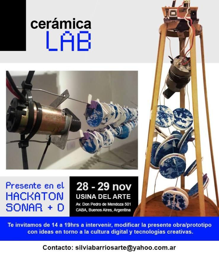 """""""MediaLab Cerámica sonora""""  Edición  Sonar +D"""