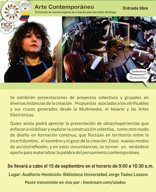 Arte Contemporàneo- Cabezote conferencias