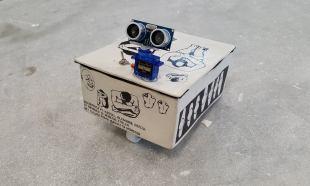 """Proyecto """"Robotino Refugiado"""" por Silvia Barrios"""