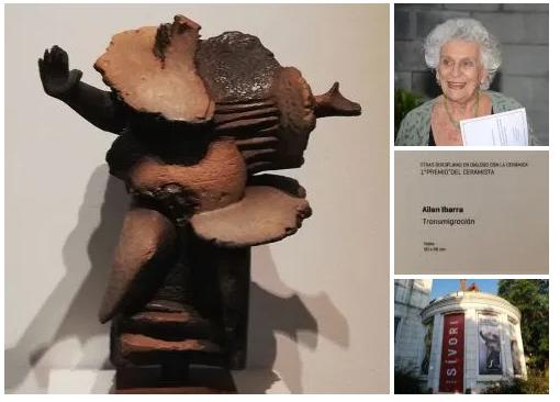 Para esta edición se rinde homenaje a la trayectoria y designación de socia honoraria a la querida artista Mireya Baglietto, quien dona una obra que pasa a integrar el acervo cultural del Patrimonio del CAAC.